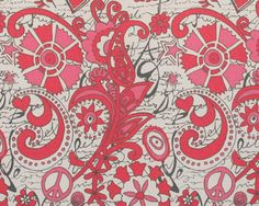 Pink Table Runner Valentine's Day Decor 12x54 12x72 by FreshHues, $16.00