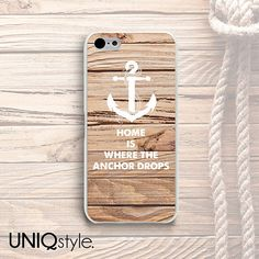 #Anchor #wood print phone case for iPhone 4/4s iPhone by Uniqstyle, $9.99