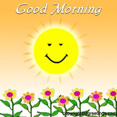 good morning animated gifs | Animated gifs of sun - page 1