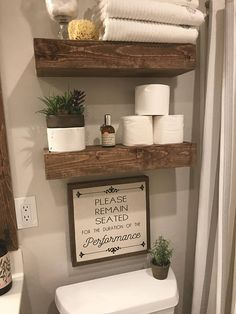 Vintage Room Decor Bathroom - Please Remain Seated for the entire performance, Wood Sign, Wood Bathroom Sign, Farmhouse Bathroom, Vintage Bathroom. Boho Bathroom, Bathroom Signs, Small Bathroom, Bathroom Ideas, Peach Bathroom, Half Bathroom Decor, Bathrooms Decor, Bathroom Gallery, Modern Bathroom