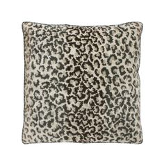 Snowy Leopard Pillow  Nest
