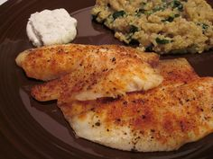 What's for Dinner?: Baked Tilapia with Horseradish Sauce