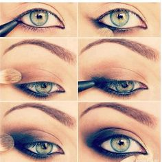 dont forget mascara! .... looks odd without it!