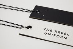 black swing tags - Google Search                                                                                                                                                                                 More