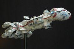 1/375 Full Scratched Rebel Blockade Runner (Tantive IV) by ROKUGEN
