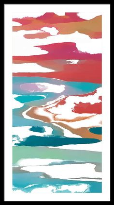 Framed Print featuring the digital art Water Dance by Jena Medders
