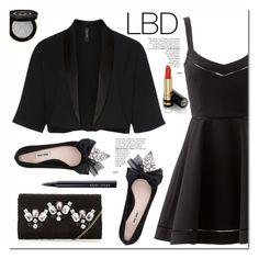 """Little Black Dress"" by christinacastro830 ❤ liked on Polyvore featuring Elizabeth and James, MARC CAIN, Miu Miu, Gucci and Bobbi Brown Cosmetics"