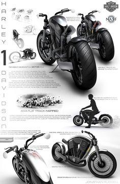 Harley Davidson 1...looking like a V-ROD but waaaaay better!