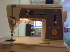 1970's singer sewing machines: Singer Touch and Sew: