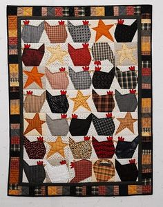 chicken quilts | chicken quilt | quilting