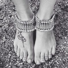"""Boho chic anklet AND bracelet Bohemian silver style can be worn as bracelet and anklet, depending on your style - such an amazing piece // Measures 6.5"""" and is adjustable up to 8.5"""" // brand new in plastic // never been worn // wear stacked or solo, try it on your ankles or wrists for a new look- it's hot hot hot // the more you own, the more options you have! ✨Listing is for 1 piece ✨ Karis' Kloset Jewelry Bracelets"""