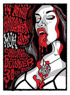 Halloween poster. 2010