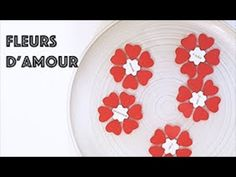 DIY fleurs qui s'ouvrent dans l'eau Diy Fleur, Cute Diys, Easy Diy, Decorative Plates, Templates, Blog, Tableware, Paper Flowers, Stencils