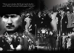 Mustafa Kemal ATATÜRK  ve silah arkadaşları ; sizleri minnet, sevgi, saygı ve takiple anıyor, yaşıyor, yaşatıyoruz.. Yaşasın  CUMHURİYET !  sonsuza dek !!!