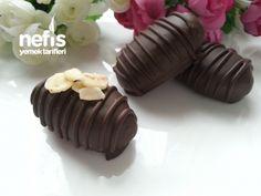 5 Dakikada Muzlu Çikolatalı Bonbon