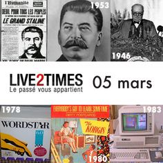 Les 05 mars, de 1945 à nos jours
