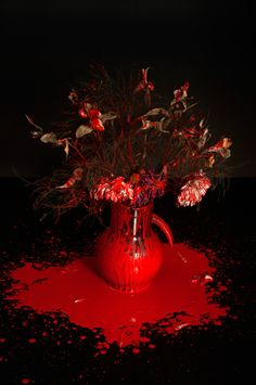 Echa un vistazo a este proyecto @Behance: \u201cPainted Flowers\u201d https://www.behance.net/gallery/41759781/Painted-Flowers