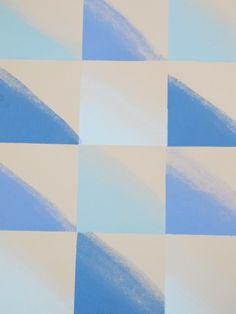 Kelly Wearstler Wallpaper | Chroma Paper: Lake/Blue www.kellywearstler.com
