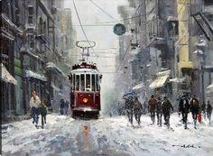 istanbul manzaralı yağlıboya tablolar - Google'da Ara