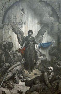 Gustave Dore - Defense of Paris