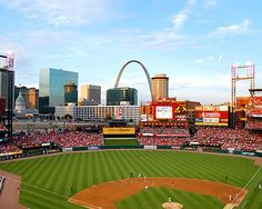 Take Me Out To The Ballgame! Busch Stadium and the Cardinals are a St. Louis Combo! pamsmorris