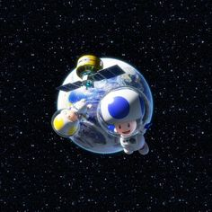 The space toads adventure