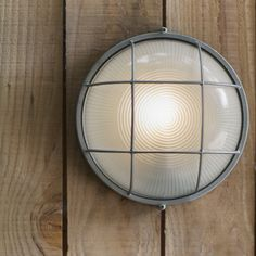 The Chatham round bulk head light is a stylish, industrial style, outdoor wall mounted light with a nautical feel. Outdoor Wall Mounted Lighting, Outdoor Pendant Lighting, Lighting Sale, Lighting Ideas, Outdoor Dining Furniture, Outdoor Walls, How To Make Lanterns, Decoration, Wall Lights