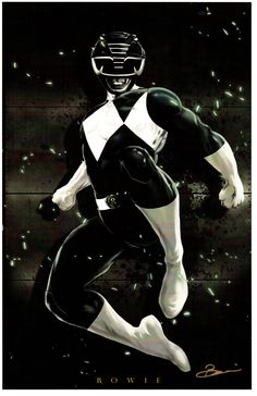 Black Ranger by Damon Bowie                                                                                                                                                                                 More