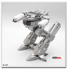 Admire this LEGO droid -- you have 10 seconds to comply!