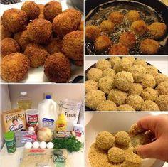 Delicious Sauerkraut Balls! - Even non-sauerkraut fans will love this recipe! :-)