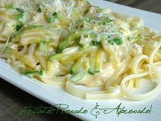Tested, Tasted and Approved: PASTA WITH ZUCCHINI AND CHEESE
