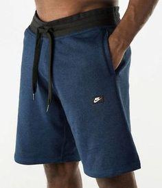 NWT NIKE MENS SHOEBOX SHORTS BLUE FLEECE ALUMNI 725240 480 SZ M Clothing, Shoes & Accessories:Men's Clothing:Athletic Apparel #nike #jordan #shoes houseofnike.com $35.00