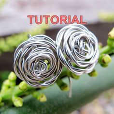 WB13: Wire Wrapped Rose Earrings Technique: Wirework, wire wrapping, twisting Level: Beginner I discovered this method of making rose earrings accidentally while making the Rose Ring. This lesson teaches you how to create a simple wire wrapped earrings that look like blooming roses. The #simplewirerings #howtowirewrappedrings #wireringshowtomake