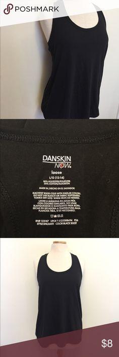 Danskin bow black work out tank Great used condition! Great plain black tank. Danskin Now Tops