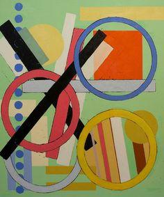 "Saatchi Art Artist Julien Corcoran Porisse; Painting, ""OOOX Structure"" #art"