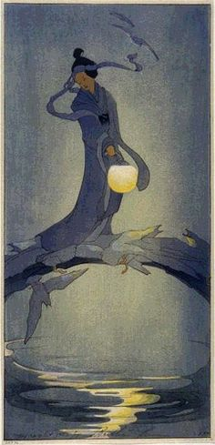 Tanabata - my favorite festival!  by Bertha Lum, 1912