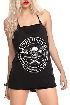 Avenged Sevenfold Die Young Girls Tank Top