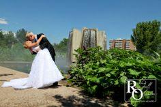 Bride and Groom Portraits, Garden Wedding, Colorado Wedding, Randall Olsson Photography, Outdoor Wedding, Denver Botanic Gardens Wedding