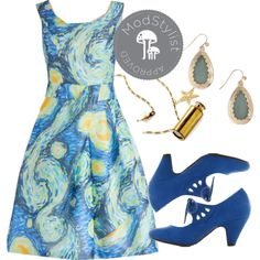 Fine art dress