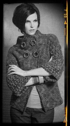 Mejores Punto Coat Imágenes Chaqueta Crochet De 225 dFWCwngd