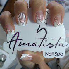 Magic Nails, Bridal Nails, Super Nails, Nail Spa, Pink Nails, Acrylic Nails, Manicure, Nail Designs, Beauty