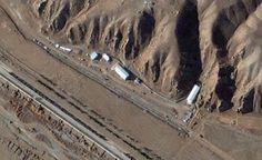 """Satélite mostra Irã """"limpando"""" possível local de bomba nuclear"""
