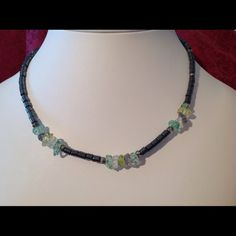 "Spotted while shopping on Poshmark: ""Handcrafted Hematite Necklace #28""! #poshmark #fashion #shopping #style #FireGlow Gem #Jewelry"