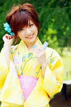 yellow yukata  - popculturez.com