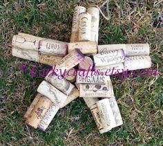 Wine Cork Star by Corkycrafts on Etsy, $12.00