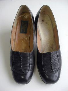 Vintage pumps/size4(23-23.5cm)