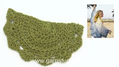 How to start crochet in DROPS 145-6