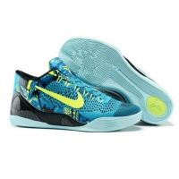 617679ce05d Nike Kobe IX 9 Elite Low blue green black mens basketball shoes Air Max  Sneakers