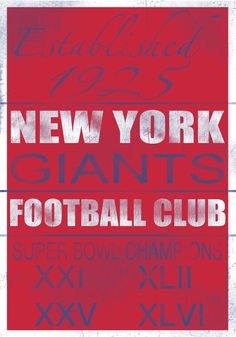 New York Giants Vintage
