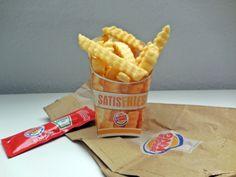 #SATISFRIES Pommes von Burger King